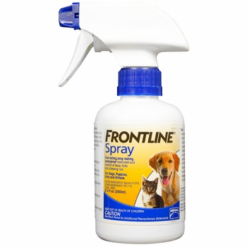 Picture Frontline spray for dogs cats
